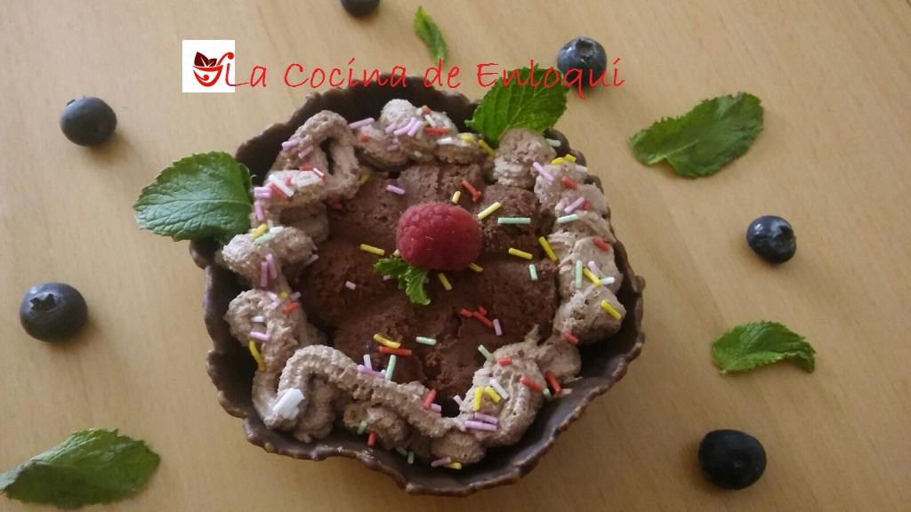 Helado de chocolate | helado